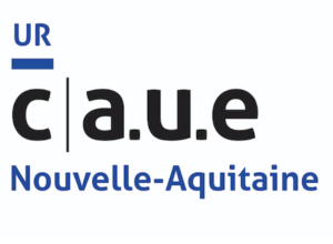 Logo de l'Union régionale des CAUE de Nouvelle-Aquitaine